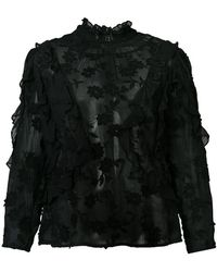 Rebecca Taylor - Loose Fitted Blouse - Lyst