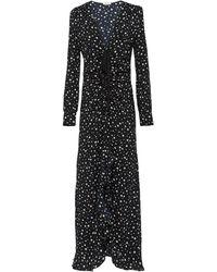 Miu Miu スタープリント ドレス - ブラック