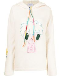 Mira Mikati X Javier hoodie Up To You à broderies - Multicolore