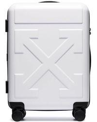 Off-White c/o Virgil Abloh Arrow Trolley Luggage - White
