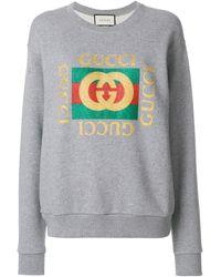 Gucci - ロゴプリント スウェットシャツ - Lyst