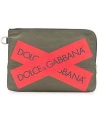 Dolce & Gabbana - Logo Print Pouch - Lyst