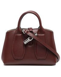 Longchamp Сумка-тоут Roseau С Верхней Ручкой - Красный