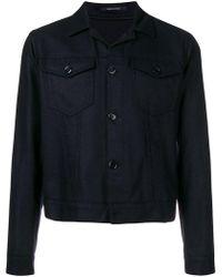Tagliatore - Fitted Shirt Jacket - Lyst