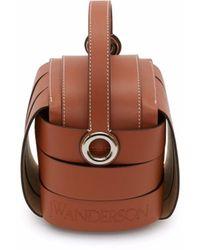 JW Anderson Knot Bag - ブラウン