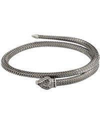 Gucci Bracelet Garden en argent Sterling - Métallisé
