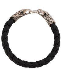 John Hardy Eagle Double Head Bracelet - Black