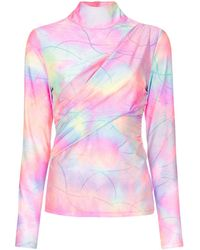 Sies Marjan Top tie & dye - Multicolore