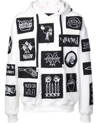 Haculla Stabat Patch Hoodie - White