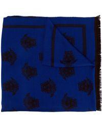 Versace Écharpe Medusa - Bleu