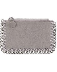 Stella McCartney - Falabella Zipped Wallet - Lyst