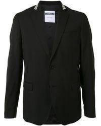 Moschino ロゴ ジャケット - ブラック