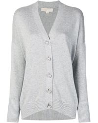 MICHAEL Michael Kors - Embellished Button Cardigan - Lyst