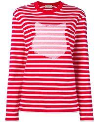 Maison Kitsuné - Cat Print Sweater - Lyst