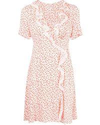 ALEXACHUNG Alice Shroom ラッフル ドレス - ホワイト