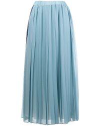 Ultrachic - Pleated Skirt - Lyst