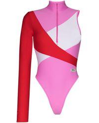 adidas X Lotta Volkova One Sleeve Swimsuit - Multicolour