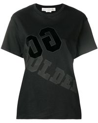 Golden Goose Deluxe Brand - Fitted Logo Print T-shirt - Lyst