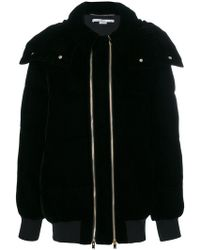 Stella McCartney - Double Zip Puffer Jacket - Lyst