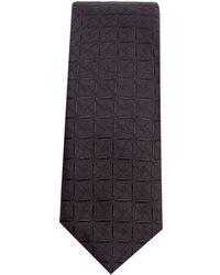 Dolce & Gabbana ジャカード シルクネクタイ - ブラック
