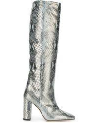 Paris Texas - スネークパターン ブーツ - Lyst