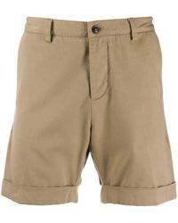 AMI Klassische Chino-Shorts - Natur