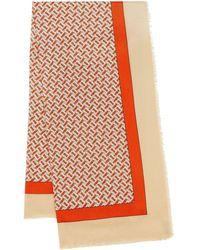 Burberry - モノグラム カシミアスカーフ - Lyst
