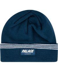 Palace J-stripe ビーニー - ブルー
