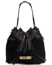 Moschino - ロゴ バケットバッグ - Lyst