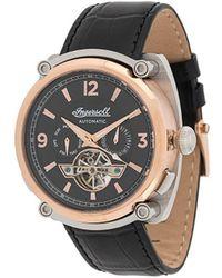 INGERSOLL WATCHES The Michigan 45mm 腕時計 - ブラック
