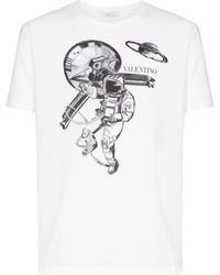 Valentino - コットンtシャツ - Lyst