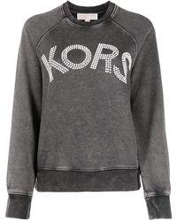 MICHAEL Michael Kors Декорированная Толстовка С Логотипом - Серый
