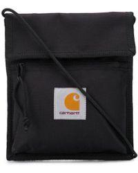 Carhartt WIP ロゴ ショルダーバッグ - ブラック