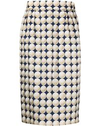Hermès - Gonna a matita Balle de Golf Pre-owned - Lyst