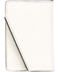 South Lane Raw White Wallet