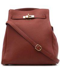 Hermès 2001 Pre-owned Kelly Sport Mm Shoulder Bag - Red