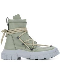 Rick Owens - Lace-up Hiking Boots - Lyst