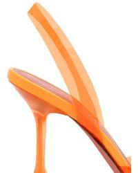 AMINA MUADDI - Прозрачные Туфли Holli 95 С Ремешком На Пятке - Lyst