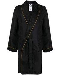Versace Жаккардовый Халат - Черный