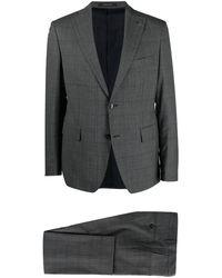 Tagliatore - チェック シングルスーツ - Lyst