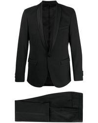 Karl Lagerfeld スリムフィット シングルスーツ - ブラック