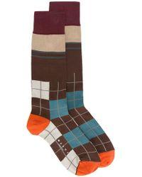 Marni | Checked Socks | Lyst