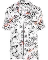 Off-White c/o Virgil Abloh X The Webster Floral Pyjama Shirt - White