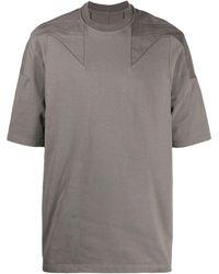 Rick Owens オーバーサイズ Tシャツ - グレー