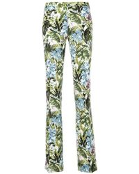 Pinko - Floral Tailored Trousers - Lyst