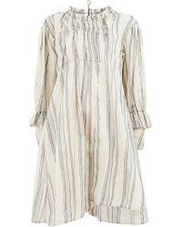 Renli Su - Striped Dress - Lyst