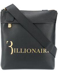 Billionaire メッセンジャーバッグ - ブラック