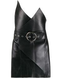 Manokhi Alair ラップドレス - ブラック