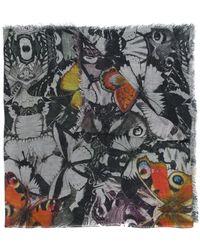 Faliero Sarti - Butterfly Print Scarf - Lyst