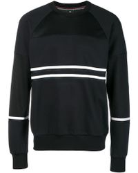 PS by Paul Smith - Striped Jersey Sweater - Lyst